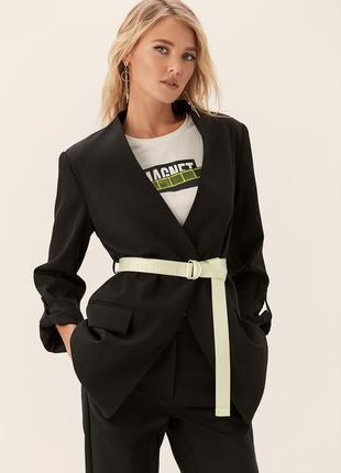Стильный удлинённый пиджак