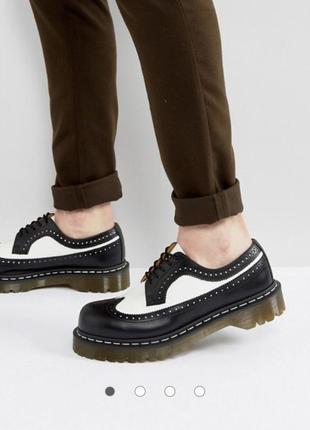 Мужские ботинки туфли броги dr martens размер uk 12 us 13 eu 47