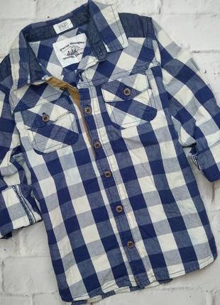 Рубашка f&f 5-6 лет.