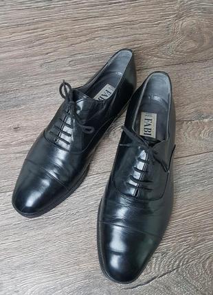 Итальянская обувь туфли оксфорды fabi italy оригинал