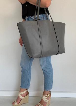 Двухсторонняя сумка шоппер
