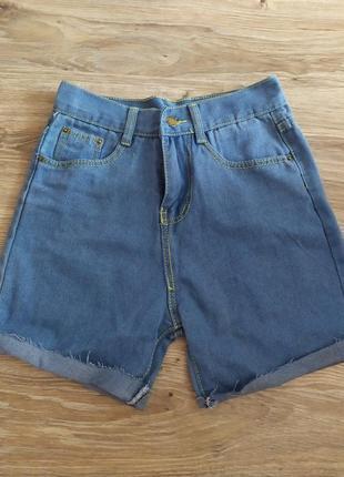 Базовые джинсовые шорты