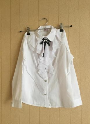 Нарядная блуза для девочки на рост 134,140,146,152
