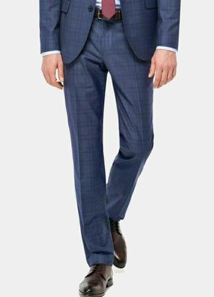 Стильные мужские брюки в клетку/штаны