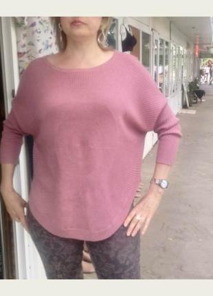 Очень приятный к телу,дышащий свитер