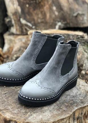 Шикарные ботиночки,челси,размер 36.