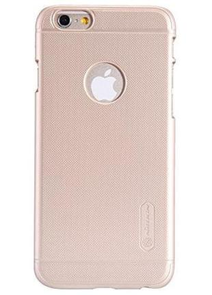 Чехол nillkin frosted shield pc gold для iphone 6/6s