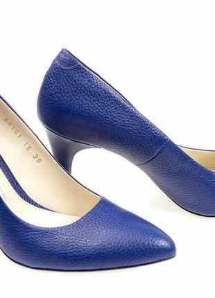 Туфли-лодочки  новые кожаные, удобные, красивые и качественные. модель номер:233.