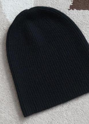 Uniqlo шапка. 100% кашемир.
