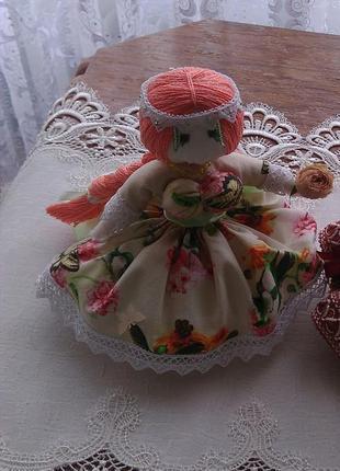 Аромасаше кукла наполненная мелисой с аромамаслами.
