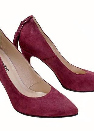 Туфли-лодочки  новые кожаные, удобные, красивые и качественные. модель номер:234.