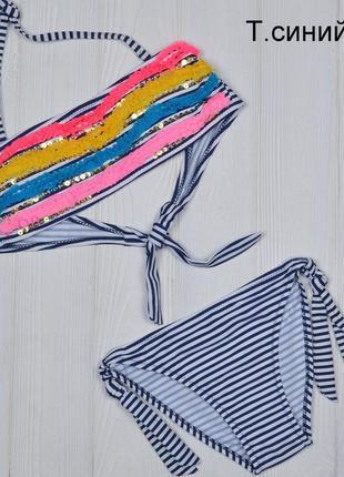 Детский купальник для девочки от 2 до 8 лет
