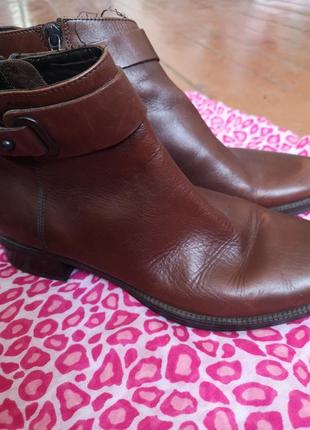 Ботинки кожаные, осень-весна