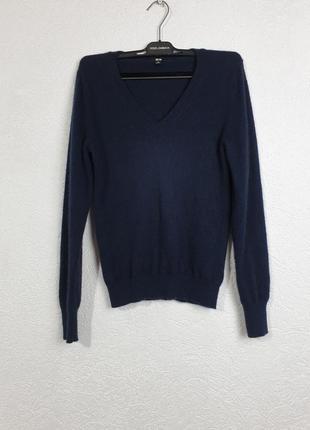 Кашемировый пуловер джемпер свитер uniqlo