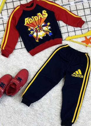 Детский спортивный костюм адидас