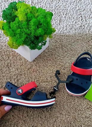 Босоніжки crocs crocband sandal kids