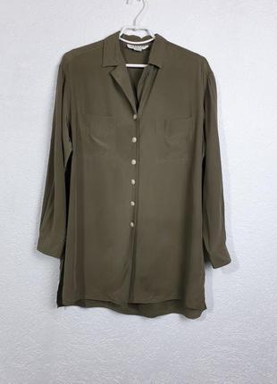 Свободная шёлковая рубашка jaeger
