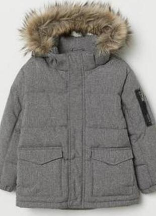 Парка куртка н&м 14+