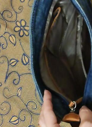 Джинсовая сумочка4 фото