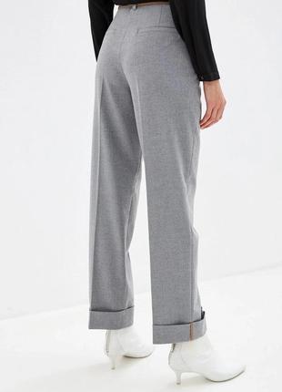 Шикарные серые брюки люкс бренда mac jeans