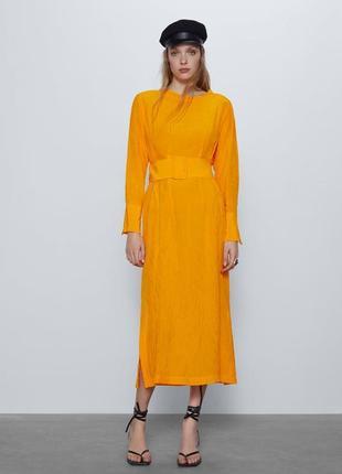 Zara платье желтое , xs, s, m