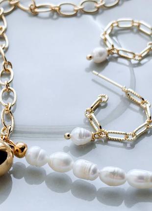 Сет із барокових перлин