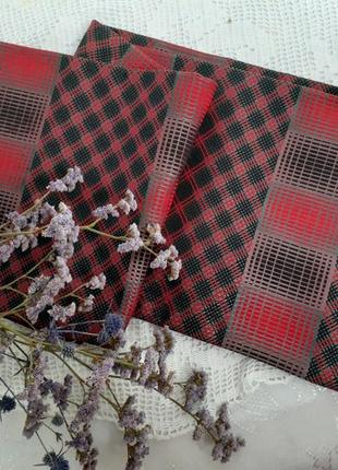 Шарф натуральный шелк ретро винтаж шелковый двойной