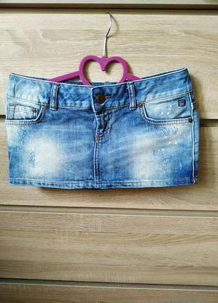 Джинсовая мини-юбка ltb