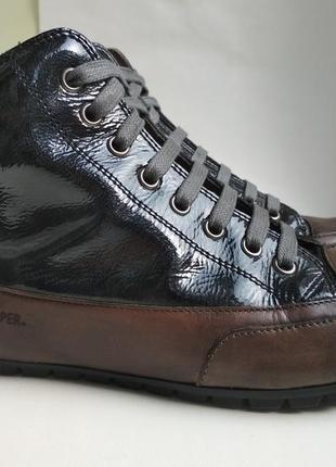 Стильные кожаные ботинки candice cooper (кендис купер) р.36