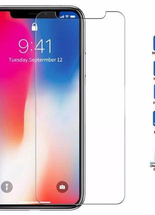 Защитное стекло на iphone xr
