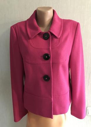 Фирменный оригинальный фактурный пиджак marks&spencer