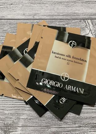 Тональный крем giorgio armani luminous silk foundation