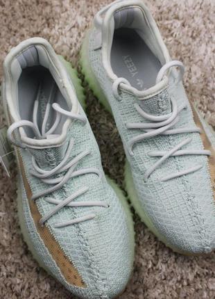 Кроссовки adidas yeezy boost 350 v2 hyperspace (белые)
