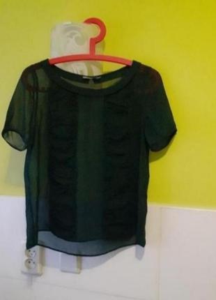 Шёлковая блуза блузка cos