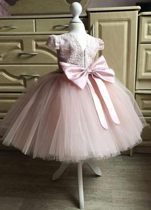 Платье на принцессу, размер 74