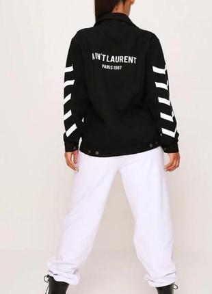I saw it first. товар из англии. джинсовая куртка в стиле канадский смокинг