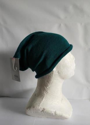 Трикотажная шапка шапочка  немецкого бренда  accessoires by takko fashion европа оригинал