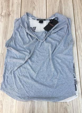 Стильная актуальная блуза майка блузка тренд maison scotch & soda massimo dutti