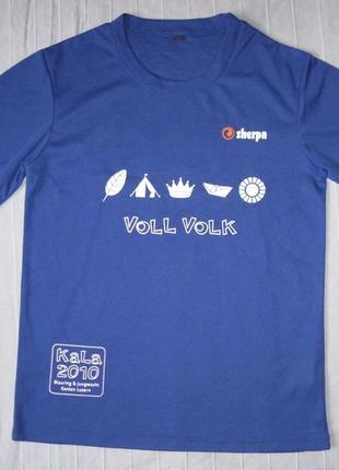 Sherpa kala (xs) спортивная треккинговая футболка мужская