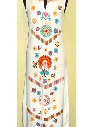 Шикарное ,  легкое , эффектное платье  , италия , р. 44 -48
