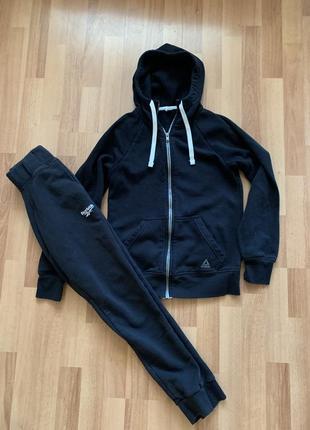 Спортивный костюм кофта штаны на резинке reebok