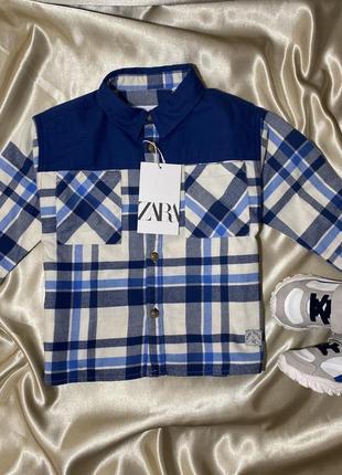 Рубашка сорочка в клеточку клетчатая рубашка zara h&m