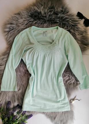 Новая летняя блуза разлетайка esmara для беременных мятная