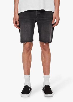 Шорты из новых коллекций pull &bear ® mens denim shorts black