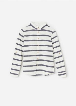 Стильная рубашка 128р и 146р