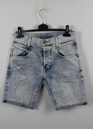 Оригинальные джинсовые шорты g-star raw new radar slim