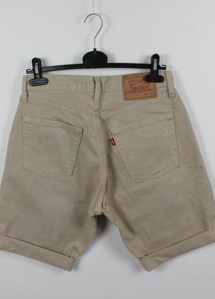Оригинальные джинсовые шорты levis 517 vintage