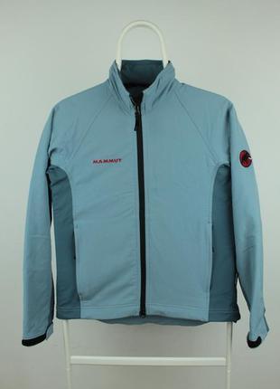 Оригинальная демисезонная курточка mammut softshell jacket women