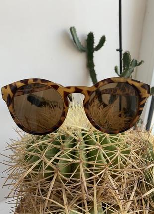Очки mango женские оригинал в стиле винтаж леопард
