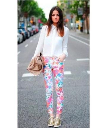 Стильные яркие джинсы джеггинсы  , esmara , германия , р. 38  и 40 евро
